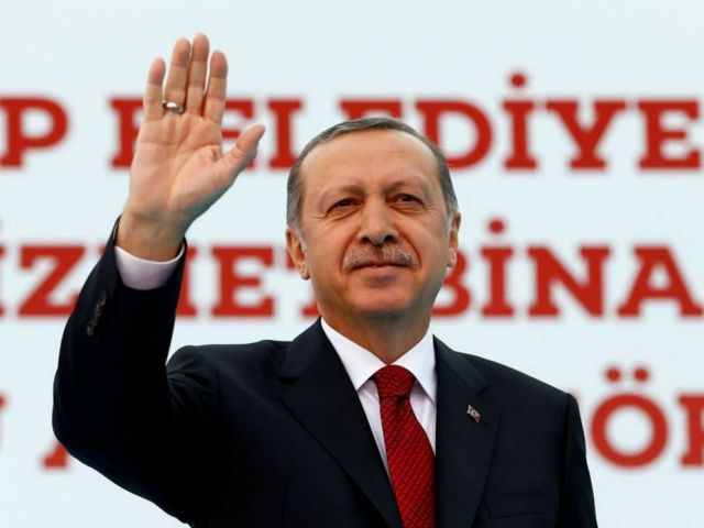 Ερντογάν σε Δύση: Ενδιαφέρεστε για τους γκέι γάμους παρά για πρόσφυγες | tovima.gr