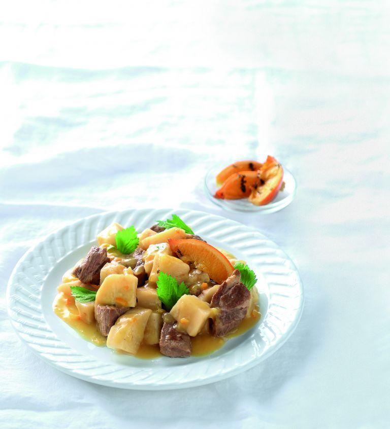 Χοιρινή τηγανιά με σάλτσα πορτοκαλιού κονφί | tovima.gr