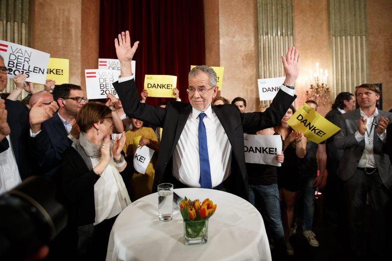 «Όχι» σε ακροδεξιό πρόεδρο είπε η Αυστρία – Εξελέγη ο οικολόγος Βαν ντερ Μπέλεν   tovima.gr