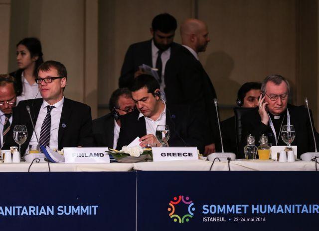 Τσίπρας: Συνεργασία για την αντιμετώπιση της ανθρωπιστικής κρίσης   tovima.gr