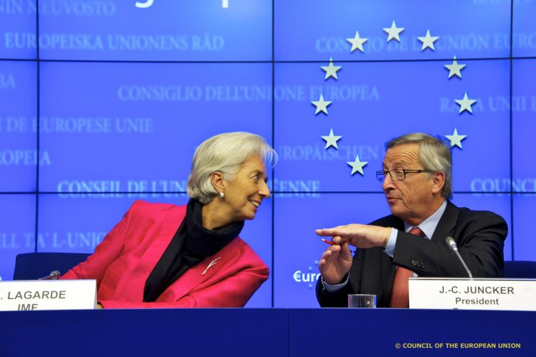 Europe and IMF offer differing proposals for Greek debt relief | tovima.gr