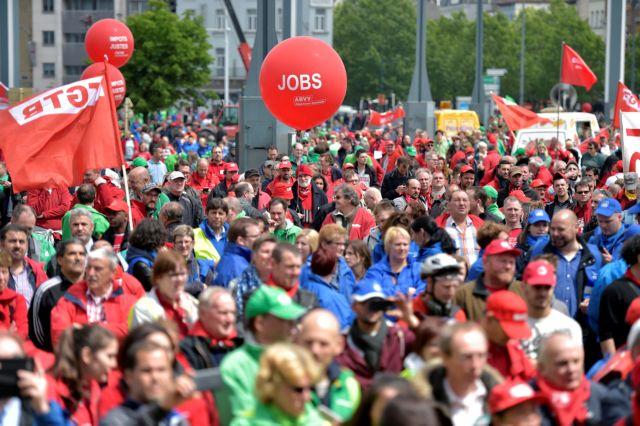 Βέλγιο: Ογκώδης διαδήλωση κατά της μεταρρύθμισης του συνταξιοδοτικού | tovima.gr