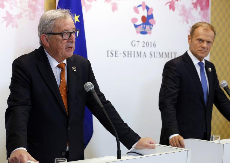 Γιούνκερ-Τουσκ:Μήνυμα σταθερότητας από Eurogroup για την Ελλάδα   tovima.gr