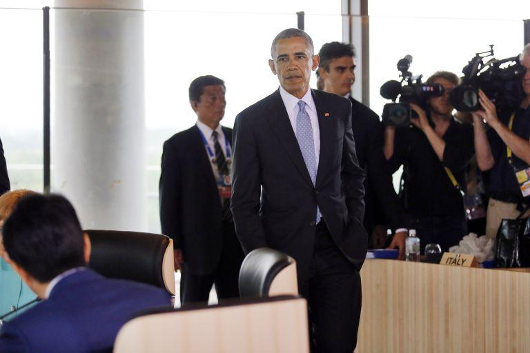 Ομπάμα: Η ελληνική κρίση χρέους έχει υποχωρήσει   tovima.gr