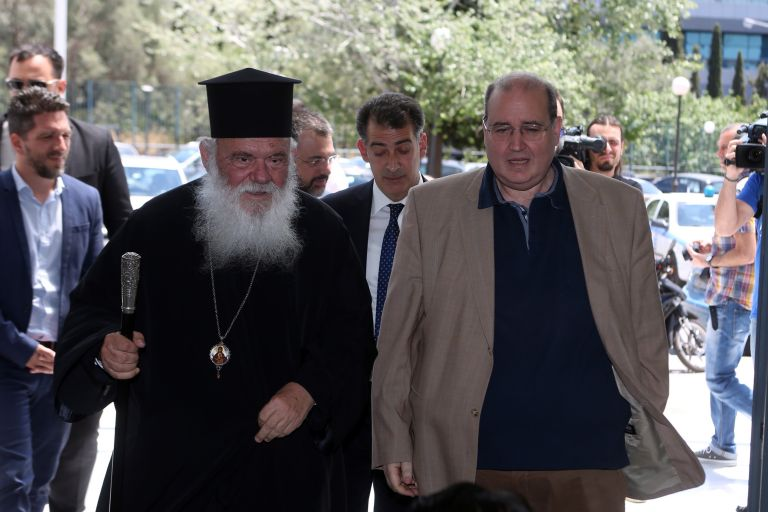 Φίλης-Ιερώνυμος υπέγραψαν σύμφωνο συνεργασίας | tovima.gr