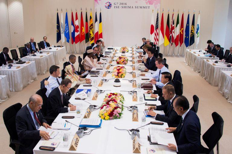 Δέσμευση G7 για στενή συνεργασία προς εξασφάλιση σταθερότητας στην αγορά | tovima.gr