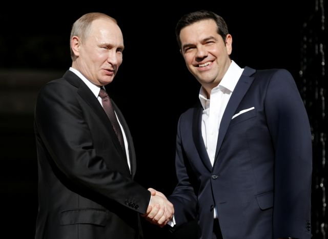 """PM Tsipras: """"Cooperation with Russia is a strategic choice for Greece"""" 