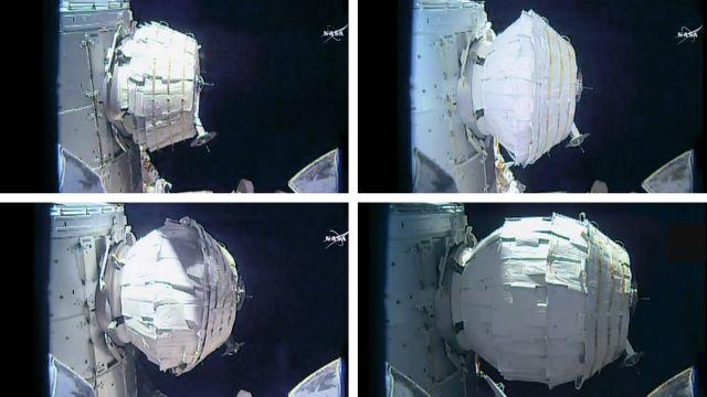 Στο τελικό του μέγεθος το πρώτο φουσκωτό δωμάτιο της NASA   tovima.gr