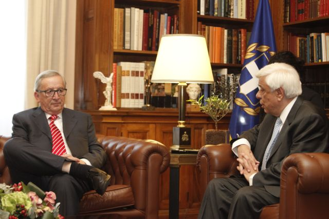 European Commission chief Juncker 'very pleased' with Greece   tovima.gr