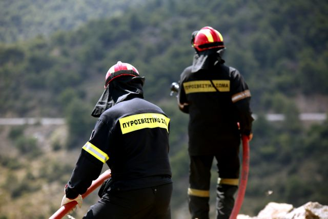 Civil Protection warns of high risk of a wild fire on Monday | tovima.gr