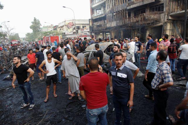Το Ισλαμικό Κράτος εκδικείται με σφαγή αμάχων στην καρδιά της Βαγδάτης   tovima.gr