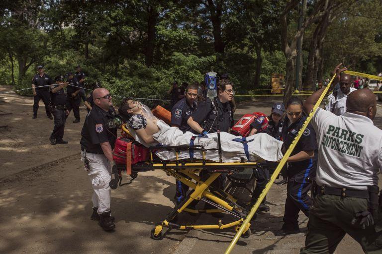 Έκρηξη στο Central Park της Νέας Υόρκης με έναν τραυματία   tovima.gr