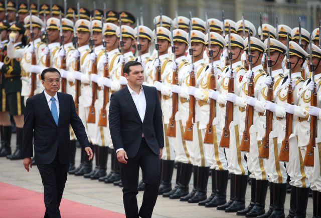 """PM Tsipras: """"Greece-China relations are of strategic importance"""" 