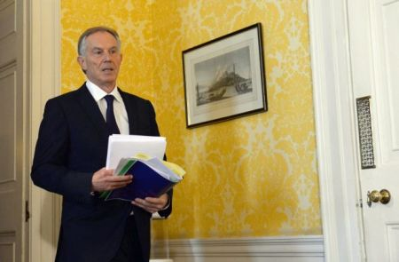 Tony Blair - Chilcot - ΤΟΝΙ ΜΠΛΕΡ - ΠΡΩΗΝ ΠΡΩΘΥΠΟΥΡΓΟΣ - ΒΡΕΤΑΝΙΑ - ΣΥΝΕΝΤΕΥΞΗ ΤΥΠΟΥ