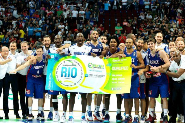 Μπάσκετ – προολυμπιακό: Και η Γαλλία προκρίθηκε στους Ολυμπιακούς Αγώνες | tovima.gr