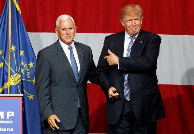 ΗΠΑ: Αναβλήθηκε η παρουσίαση του αντιπροέδρου του Τραμπ | tovima.gr