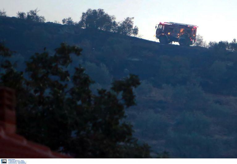 Υπό μερικό έλεγχο φωτιά στην Αγία Κυριακή Ραφήνας | tovima.gr