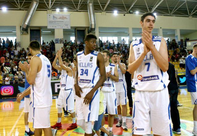 Μπάσκετ: Ακόμα ένας περίπατος για την Εθνική νέων, 103-44 το Κόσοβο | tovima.gr