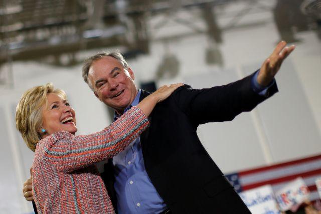 ΗΠΑ: Ο Τιμ Κέιν υποψήφιος αντιπρόεδρος στο πλευρό της Κλίντον;   tovima.gr