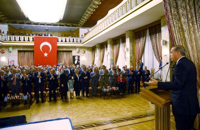 Ερντογάν: Στόχος μου η «επιτάχυνση του εκδημοκρατισμού»   tovima.gr