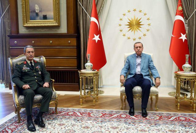 Παραμένει ο στρατηγός Ακάρ στα ηνία των Ενόπλων Δυνάμεων της Τουρκίας   tovima.gr