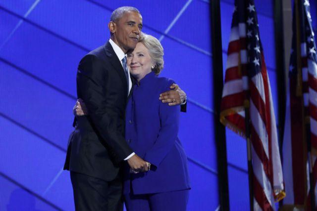 Ομπάμα: Σήμερα σας ζητώ να κάνετε για τη Χίλαρι ό,τι κάνατε για μένα | tovima.gr