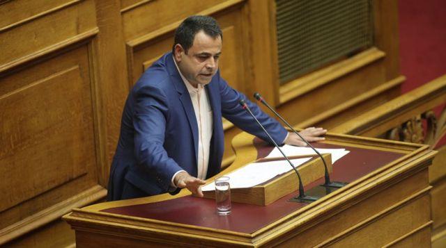 Σαντορινιός: Εντάχθηκα στον Νόμο Κατσέλη πριν γίνω βουλευτής | tovima.gr