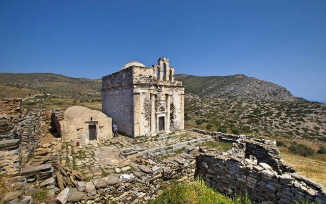 Προς αποκατάσταση ο Ναός Επισκοπής Σικίνου | tovima.gr