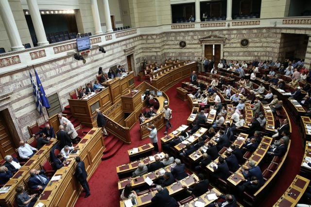 New battle in Parliament over controversial television license law | tovima.gr