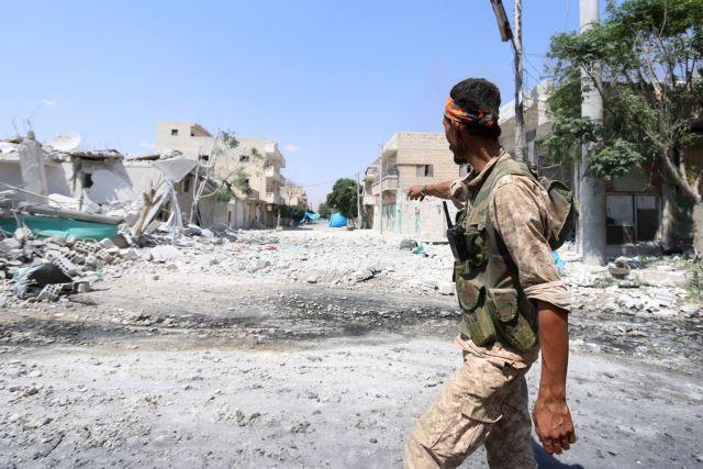 Συρία: Υπό την απειλή τουρκικής επίθεσης η Μανμπίτζ | tovima.gr