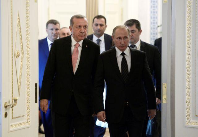Ερντογάν – Πούτιν βάζουν πάλι φωτιά στη Συρία | tovima.gr