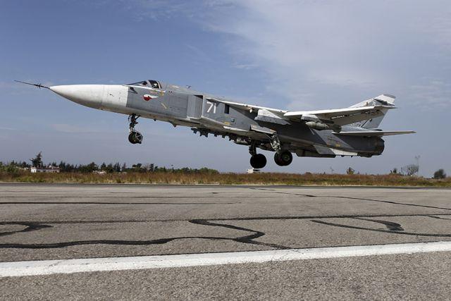 Συρία: Συνετρίβη ρωσικό Su-24 κατά την απογείωση – Νεκρό το πλήρωμα | tovima.gr