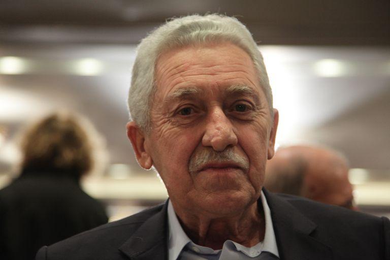 Κουβέλης:  Δεν βλέπω θερμό επεισόδιο με την έννοια της επιλογής | tovima.gr