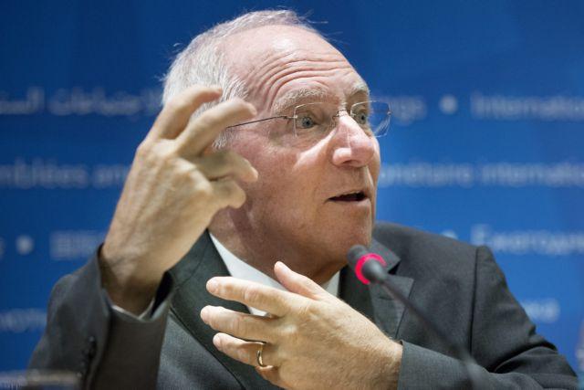 Ο Σόιμπλε καλεί την ΕΚΤ να τερματίσει την πολιτική ποσοτικής χαλάρωσης φέτος | tovima.gr