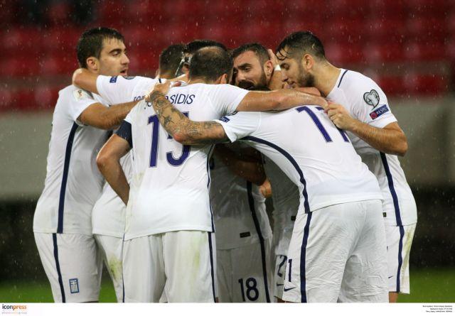 World Cup 2018 Qualifiers: Estonia v Greece (21:45) | tovima.gr
