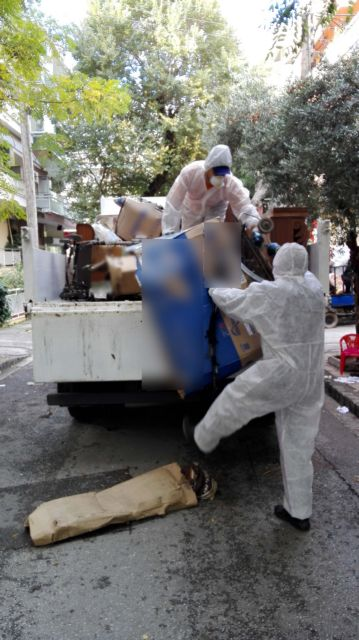 Four tons of garbage found in Thessaloniki apartment | tovima.gr