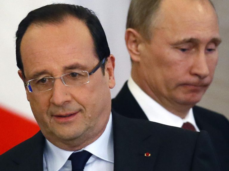 "Putin to Hollande: ""Tsipras asked to print drachmas in Russia"" 