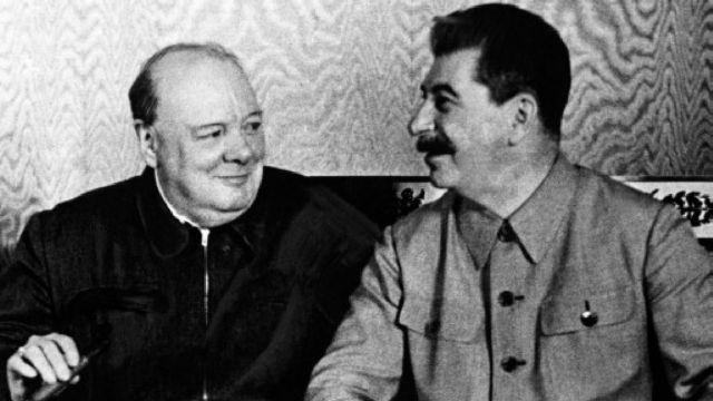 Οταν Τσόρτσιλ και Στάλιν μοίρασαν την Ευρώπη | tovima.gr