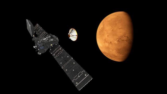 Ευρωπαϊκό ρομπότ σε κάθοδο προς τον Άρη   tovima.gr