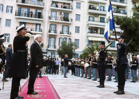 """Pavlopoulos: """"Greek nature of Macedonia is non-negotiable""""   tovima.gr"""