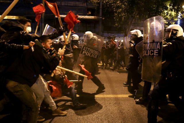 Major clashes in city center of Athens – Police make six arrests | tovima.gr