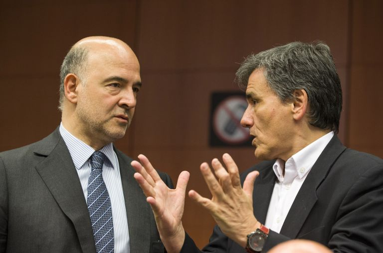 "Moscovici: ""Tsakalotos proposal on primary surplus under consideration"" 