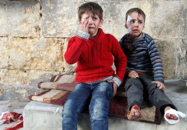 Ολο και περισσότερα παιδιά θύματα πολέμου στη Συρία   tovima.gr