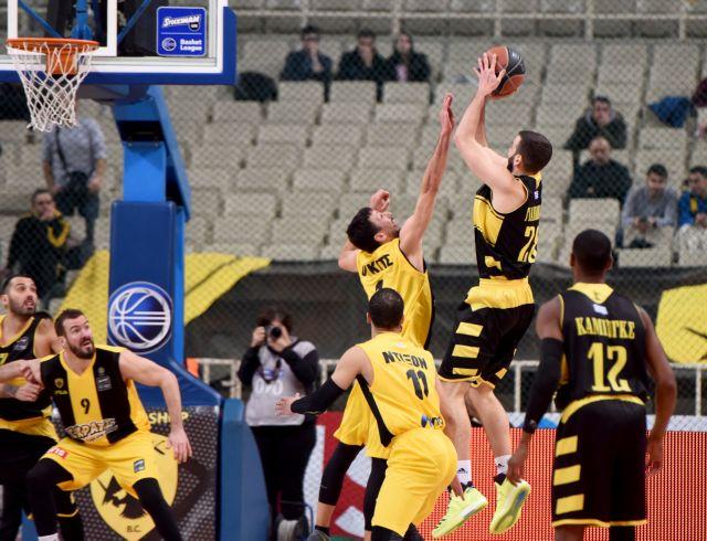 Μπάσκετ Α1: Νίκες για ΑΕΚ, Λαύριο, Τρίκαλα, Δόξα Λευκάδος και Κόροιβο | tovima.gr
