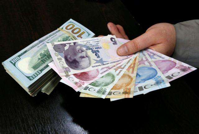 Καταρρέει η τουρκική λίρα – Εντονη η ανησυχία των επενδυτών | tovima.gr