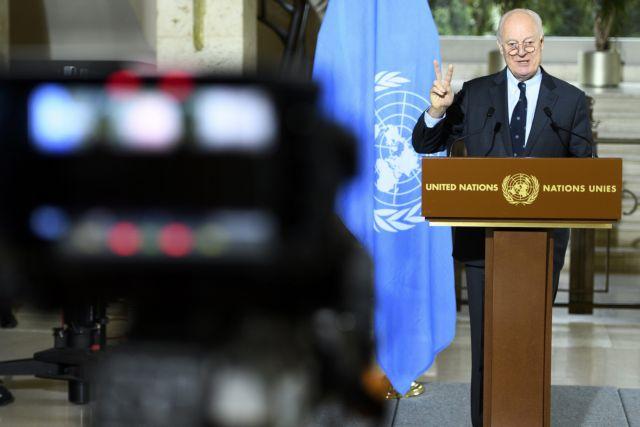 OHE: Κρατάει η εκεχειρία στη Συρία, δεν φτάνει η βοήθεια παντού | tovima.gr