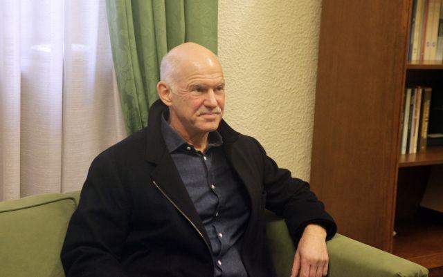 Ο Γ. Παπανδρέου επανεξελέγη πρόεδρος της Σοσιαλιστικής Διεθνούς | tovima.gr