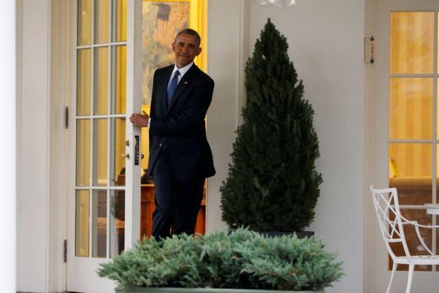 Αντίο από τον Ομπάμα, ανακοίνωσε τη δημιουργία ιδρύματος   tovima.gr