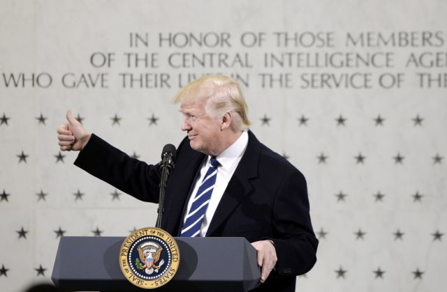 Συμφιλιωτική επίσκεψη Τραμπ στην CIA, «θα κάνουμε φανταστικά πράγματα» | tovima.gr