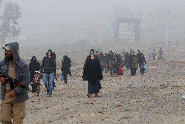 Υπό τον έλεγχο του στρατού η ανατολική Μοσούλη, υποστηρίζει η Βαγδάτη | tovima.gr